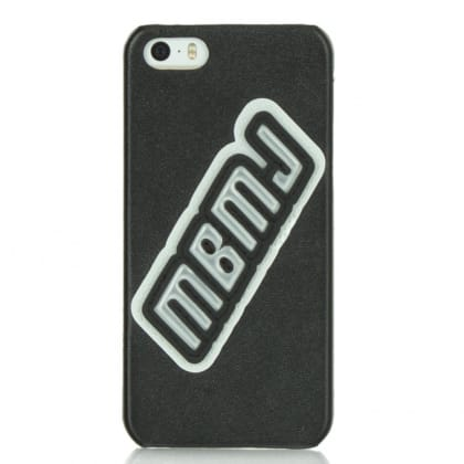 MBMJ Black Patent Patch iPhone 5 Case