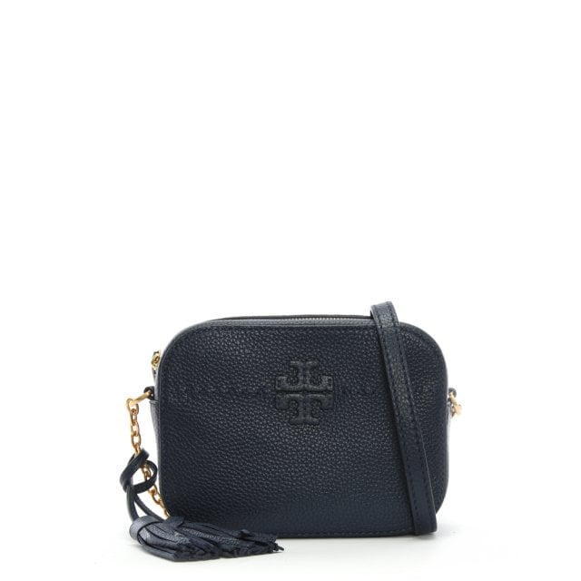 d03378696b90f1 Tory Burch Royal Navy Maple Leather Camera Bag