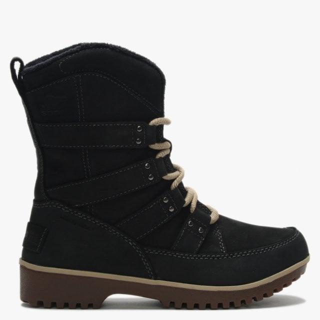ff6918dc Sorel Meadow Lace Premium Black Suede Winter Boots