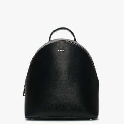 f81444fc26 Medium Bryant Black Leather Textured Backpack