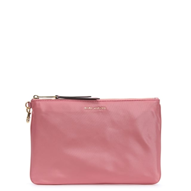 Medium Canyon Pink Nylon Pouch