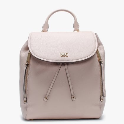 c99dc72ba204db Medium Evie Soft Pink Leather Backpack. Free Standard UK Delivery. Michael  Kors ...