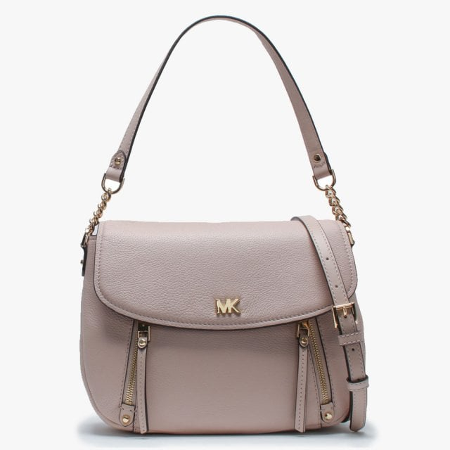 da53a7c4a2c259 Michael Kors Medium Evie Soft Pink Leather Shoulder Bag