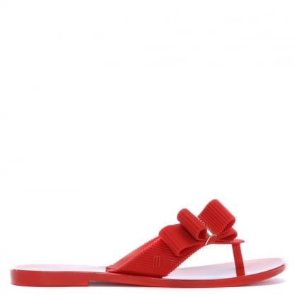 x Jason Wu Girl Red Flip Flops