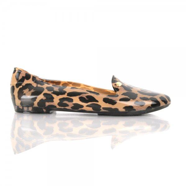 87bdbada094 Melissa Virtue Women s Flat Leopard Print Loafer