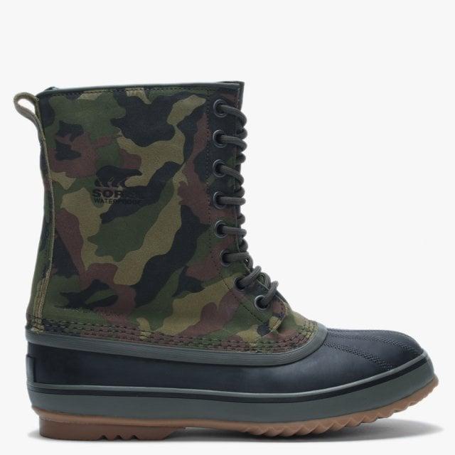 05ef3f5ae7666 Men's 1964 Premium T Camo Alpine Tundra & Black Leather Ankle Boots