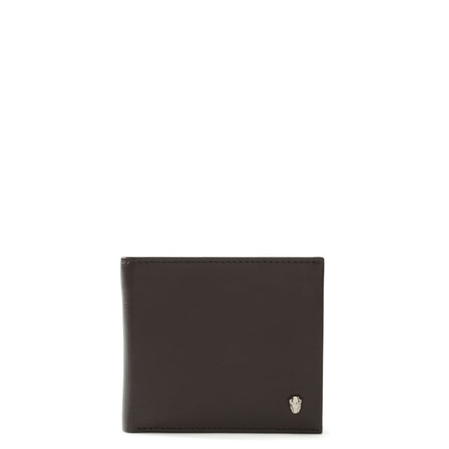 Men's Identity Panther Brown Leather Wallet