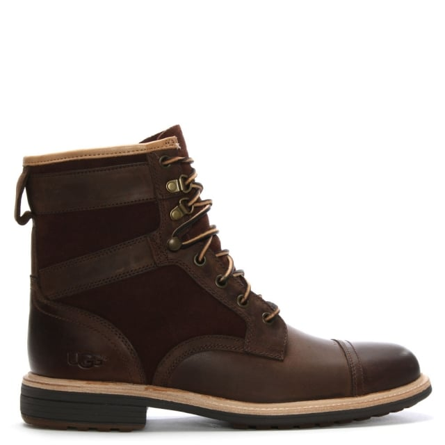 Men's Magnusson Grizzly Leather Lace Up Boots