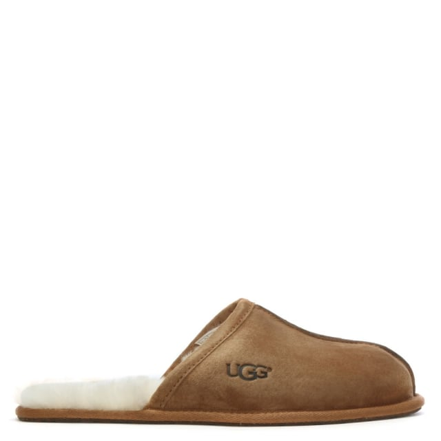8ced25f146 UGG Men s Scuff Chestnut Suede Slippers