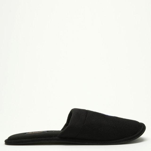 2e0f3241be92b Polo Ralph Lauren Men s Sunday Scuff Black Slippers