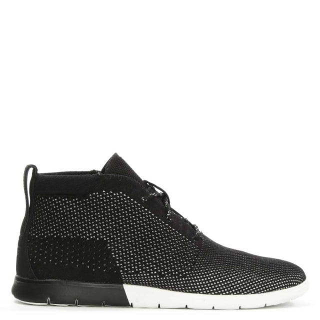 Men's Freamon Hyperweave Black Sport Desert Boot