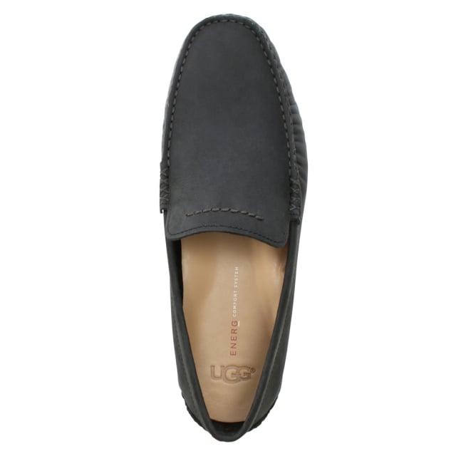 Ugg Men S Henrick Ii Black Leather Driving Shoes