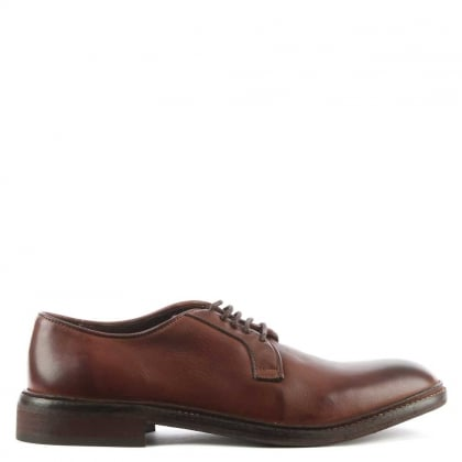 Men's Nate Brown Leather Lace Up Shoe