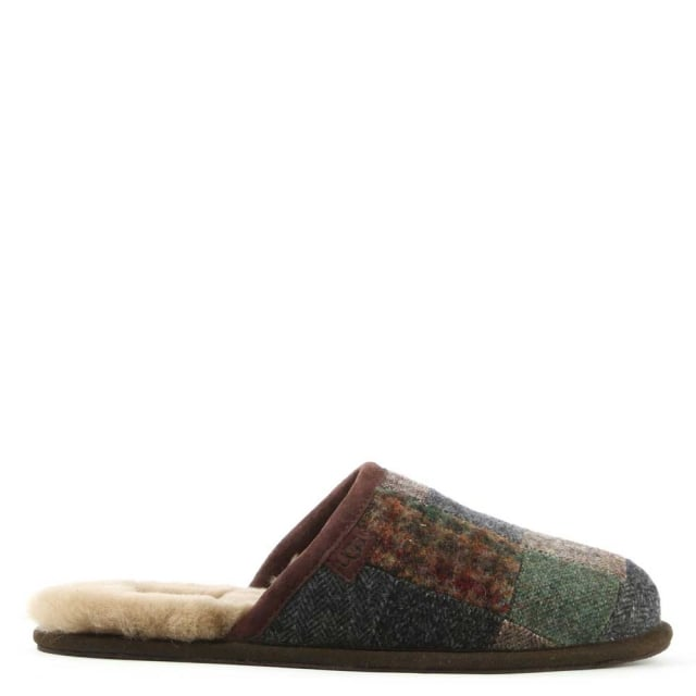 Men's Scuff Patchwork Slipper