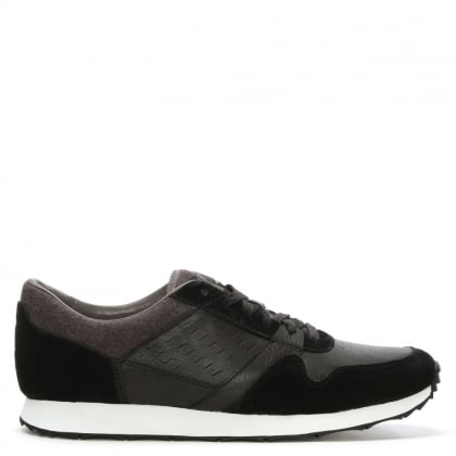 UGG Men's Trigo Black Lace Up Trainer