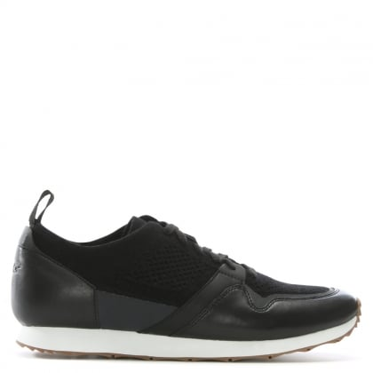 Men's Trigo Hyperweave Black Sporty Trainers