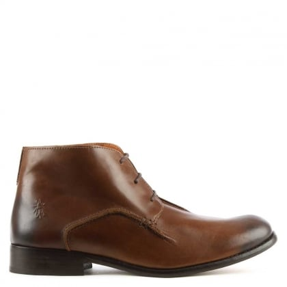 Men's Weld Tan Leather Ankle Boot