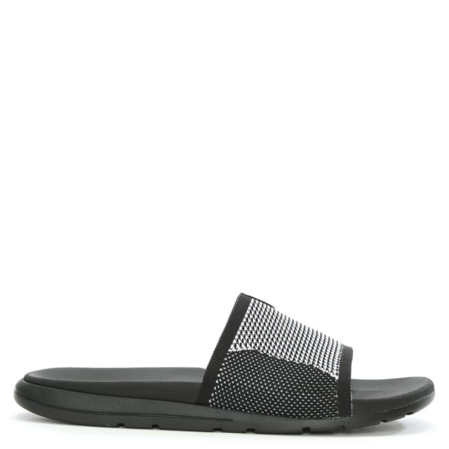 Men's Xavier Black HyperWeave Slider