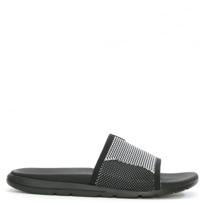 UGG Men's Xavier Black HyperWeave Slider