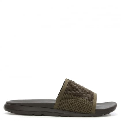 Men's Xavier Burnt Olive HyperWeave Slider