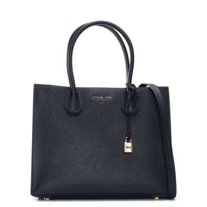 Mercer Admiral Leather Large Satchel Tote Bag