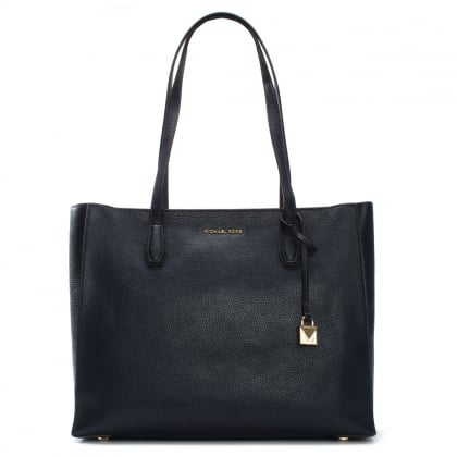 Mercer Admiral Pebbled Leather Large Tote Bag