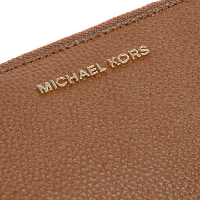 c160d8914b4e Michael Kors Mercer Luggage Leather Large Phone Case Wallet