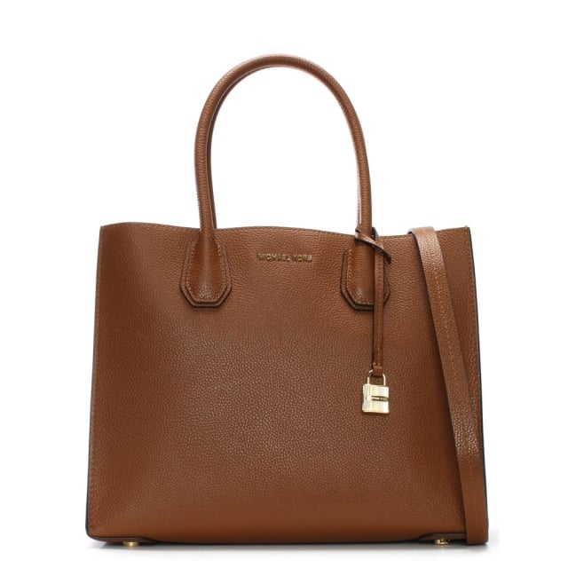 Mercer Luggage Leather Large Satchel Tote Bag
