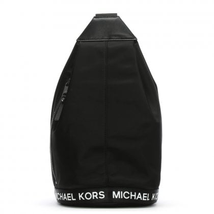 Michael Black Nylon Sling Pack