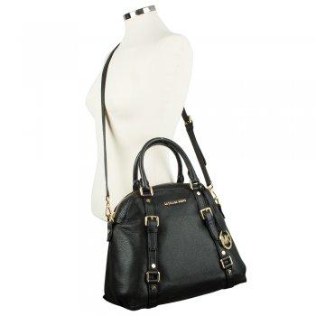 Black Small Bedford Bowling Satchel Women S Bag