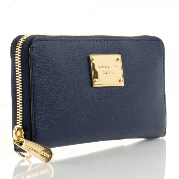 Michael Kors Navy Continental iPhone Wallet Case 5a9982dd85