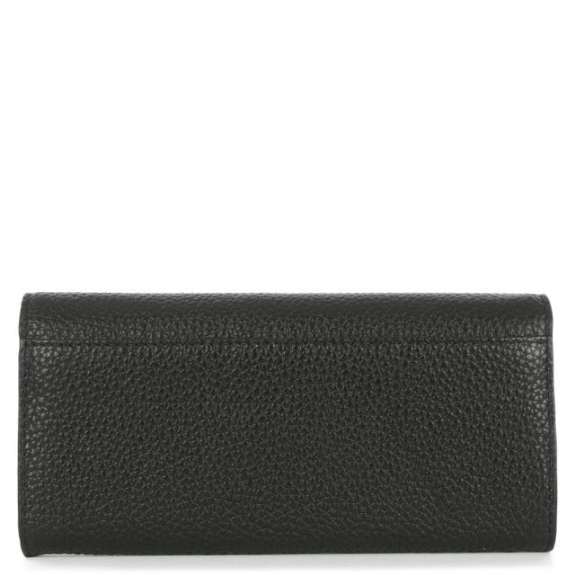 8fb1137a703ac Michael Kors Sullivan Large Black Leather Carryall Wallet