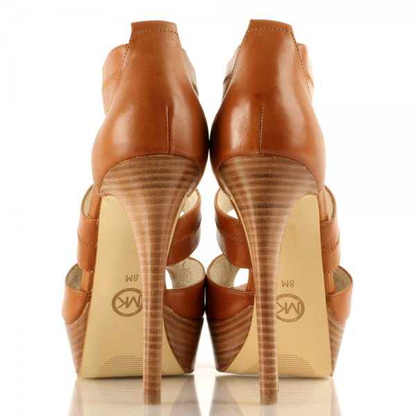 dbee9d8d465f Michael Kors Tan Berkley Platform Women s Sandal