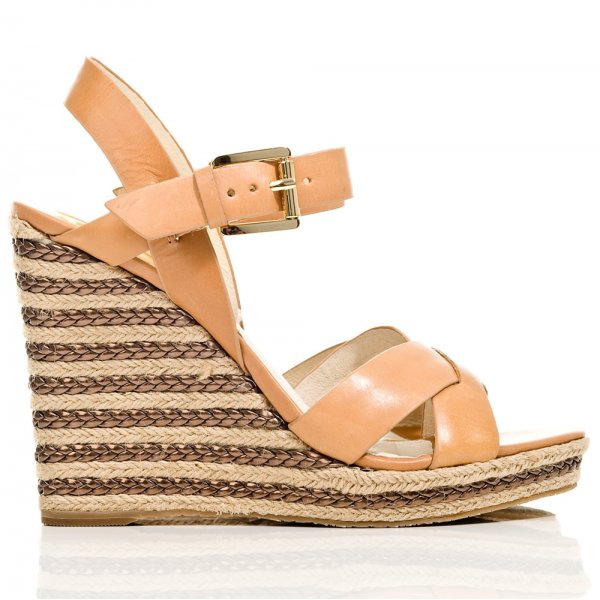 21317423cb8 Tan Viola Espadrille Women's Wedge Sandal