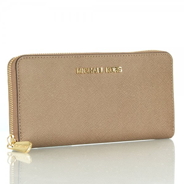 Michael Kors Taupe Continental Women s Wallet 0370c2c0f