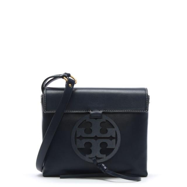 bc780c19232cbb Tory Burch Miller Royal Navy Leather Cross-Body Bag