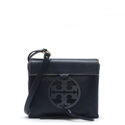 Miller Royal Navy Leather Cross-Body Bag
