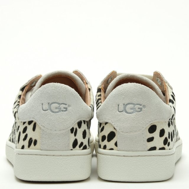 UGG Milo Exotic White Calf Hair Lace Up Trainers 6bcd8193d