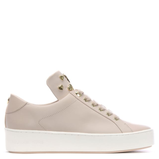 f8f9b151081 Michael Kors Mindy Soft Pink Lace Up Sneakers
