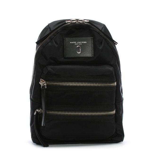 c88a8723d Marc Jacobs Mini Biker Black Nylon Backpack