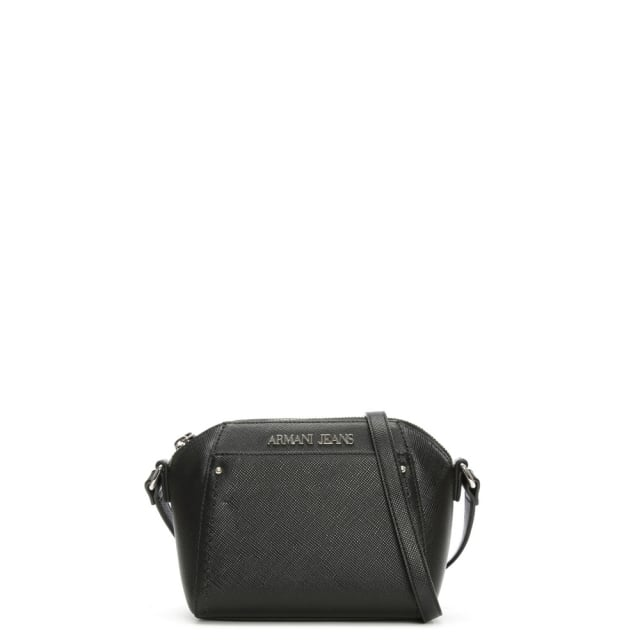 Armani Jeans Mini Monaco Black Cross-Body Bag e6b9634ce38