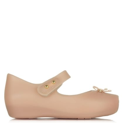 Mini Pink Matt Ballet Pump