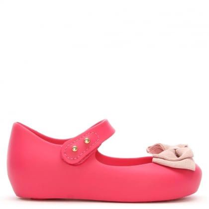 Mini Ultragirl Pink Ribbon Shoe