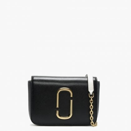 d0dfad80ffcb2 Marc Jacobs Letter Hip Shot Black Multi Leather Bum Bag