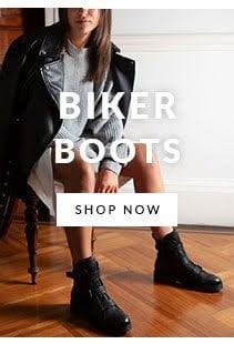 Womens Biker Boot