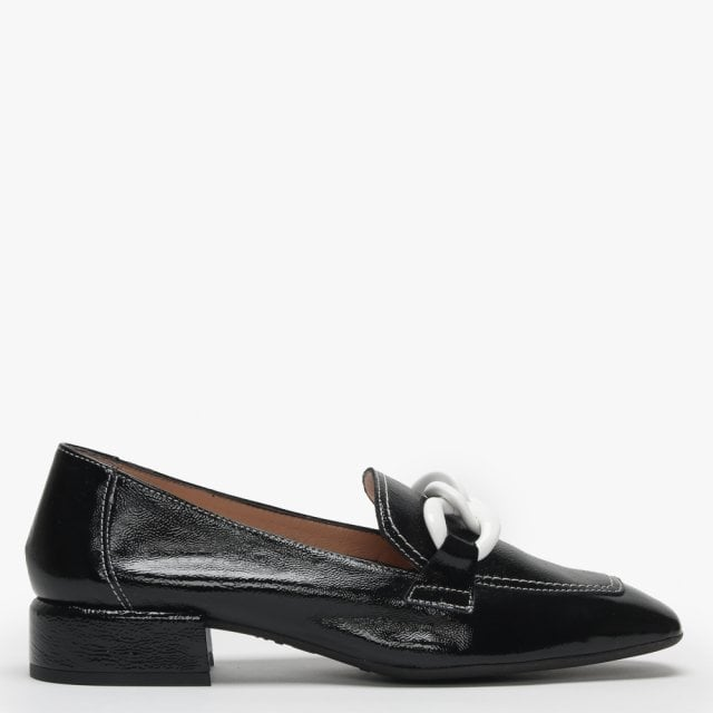 220db59c917 Wonders Mohawk Black Patent Leather Loafers