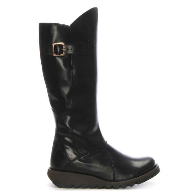 mol-black-leather-low-wedge-knee-boots