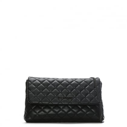 Molly Black Quilted Cross-Body Bag