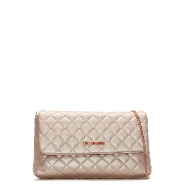 Molly Pink Quilted Cross-Body Bag
