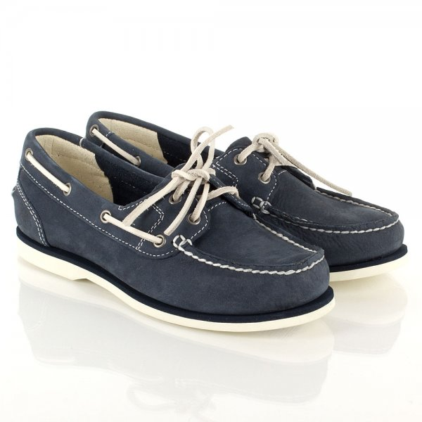 timberland women's boat shoes navy